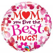 Heliumballong mors dag ballong helium linköping mom you give the best hugs Bacala 24068