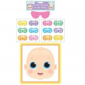 Spel baby shower pin stick the dummy on the baby napp GoInt HX51288